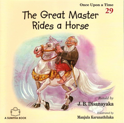 THE GREAT MASTER RIDES A HORSE