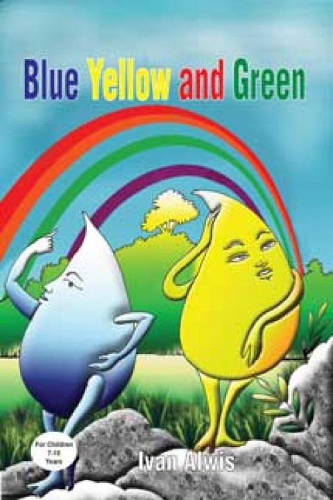 BLUE YELLOW AND GREEN