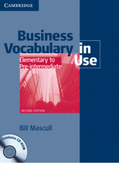 BUSINESS VOCABULARY IN USE - ELEMENTARY TO PRE INTERMEDIATE