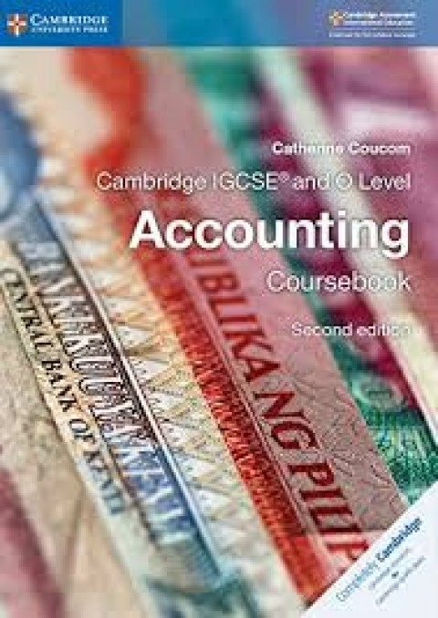 CAMBRIDGE IGCSE AND O LEVEL ACCOUNTING CB - 2ED