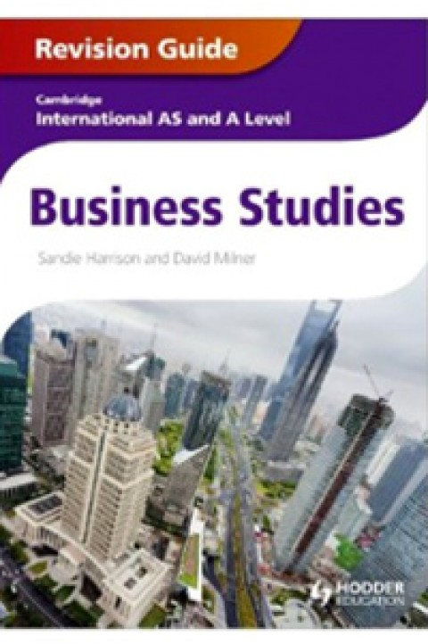CAMBRIDGE INTERNATIONAL AS AND A LEVEL BUSINESS ST