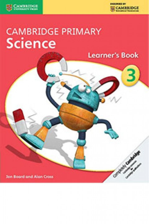 CAMBRIDGE PRIMARY SCIENCE - LEARNERS BOOK 3