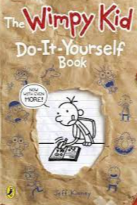 DIARY OF A WIMPY KID - DO IT YOURSELF BOOK