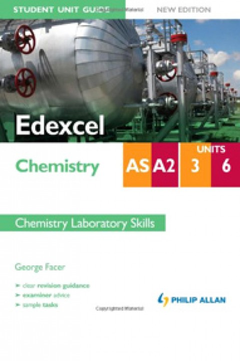 EDEXCEL CHEMISTRY AS A2 UNIT 3 6 - CHEMISTRY LABOR