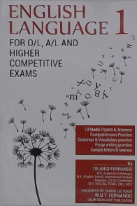 ENGLISH LANGUAGE 1 FOR OL AL AND HIGHER C