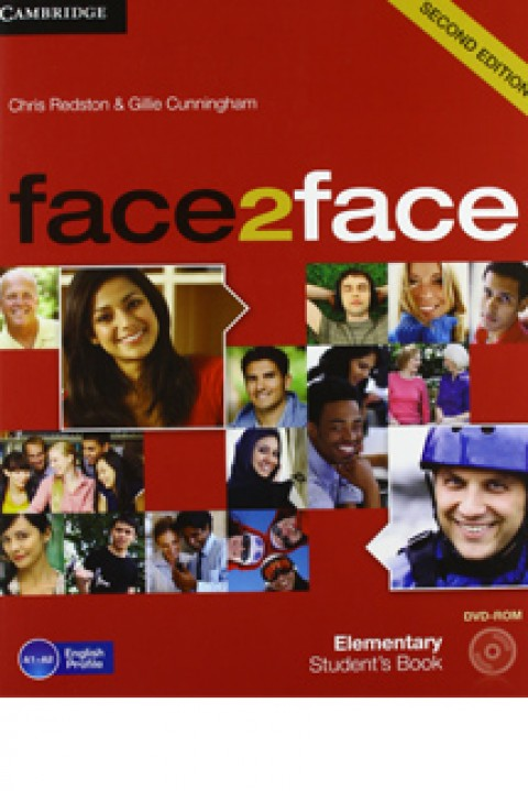FACE 2 FACE 2ED - ELEMENTARY STUDENTS BOOK WITH DVD