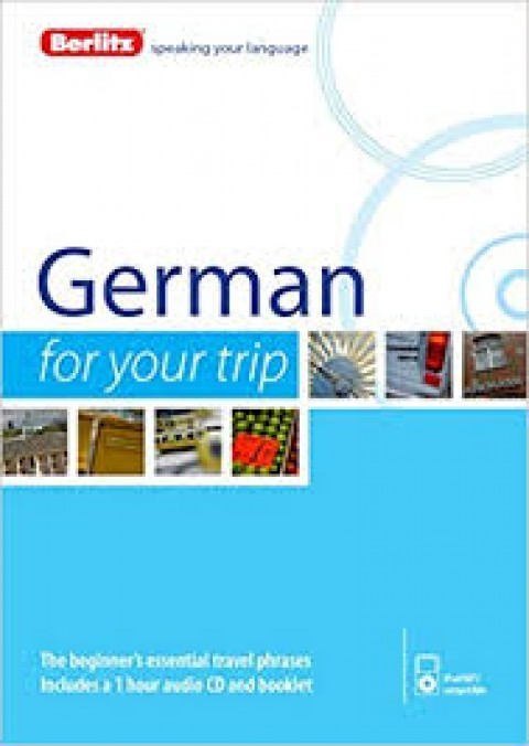 GERMAN FOR YOUR TRIP - CD