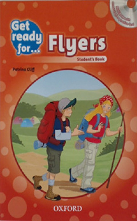 GET READY FOR FLYERS STUDENT BOOK - WITH CD