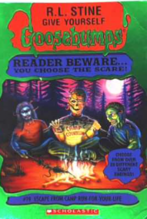 GOOSEBUMPS - ESCAPE FROM CAMP RUN FOR YOUR LIFE