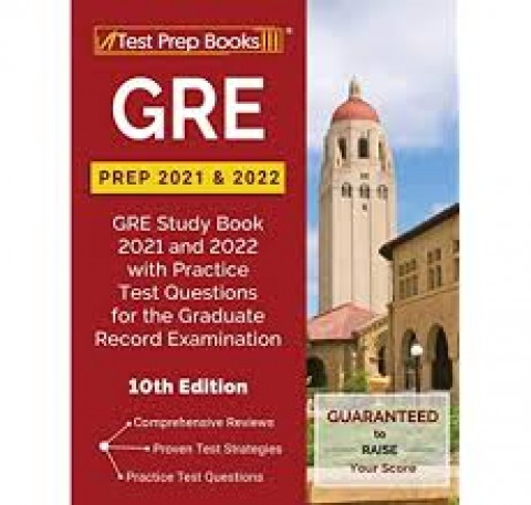 GRE PREP 2021 AND 2022 - 10ED