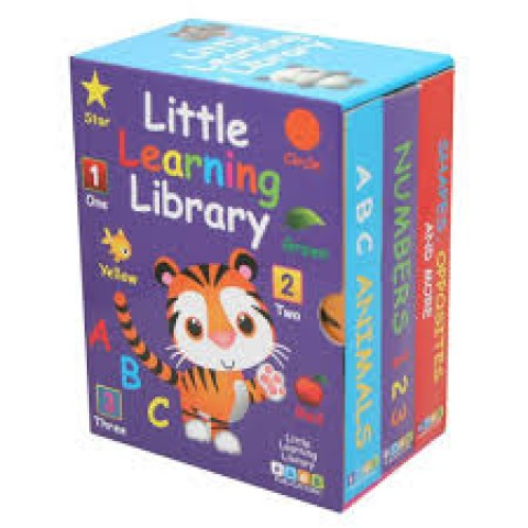LITTLE LEARNING LIBRARY - PACK