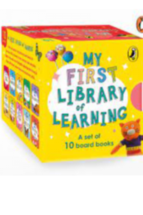 MY FIRST LIBRARY OF LEARNING - PACK 10 BOOKS