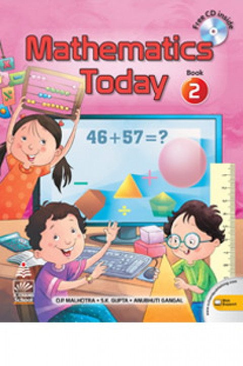 MATHEMATICS TODAY BOOK 2 - WCD