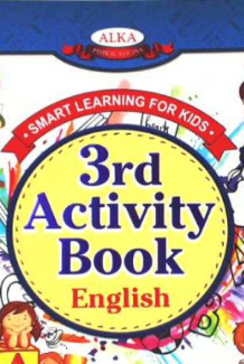 MY SMART LEARNING - 3RD ACTIVITY BOOK - ENGLISH