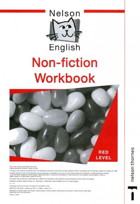 NELSON ENGLISH BEGINNING NON FICTION RED LEVEL