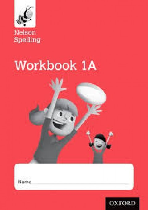 NELSON SPELLING WORKBOOK 1A - RED