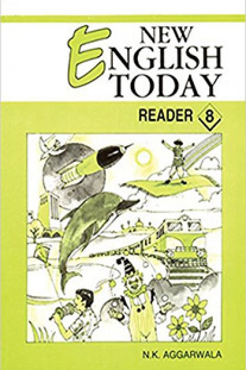 NEW ENGLISH TODAY READER 8