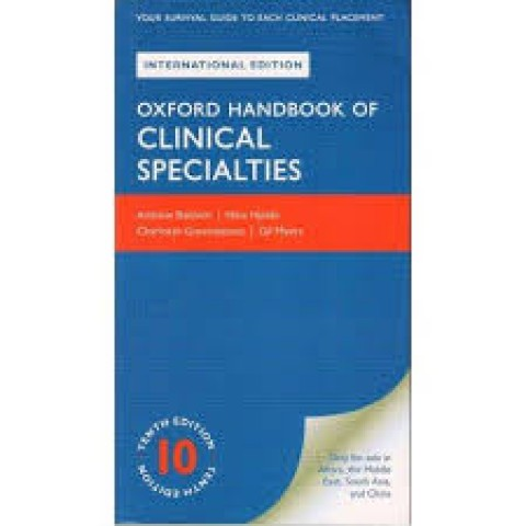 OXFORD HANDBOOK OF CLINICAL SPECIALTIES 10ED