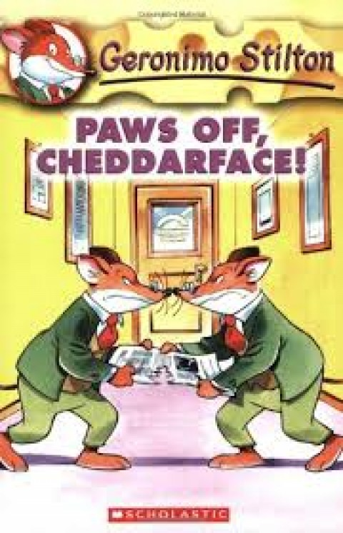 PAWS OFF CHEDDARFACE