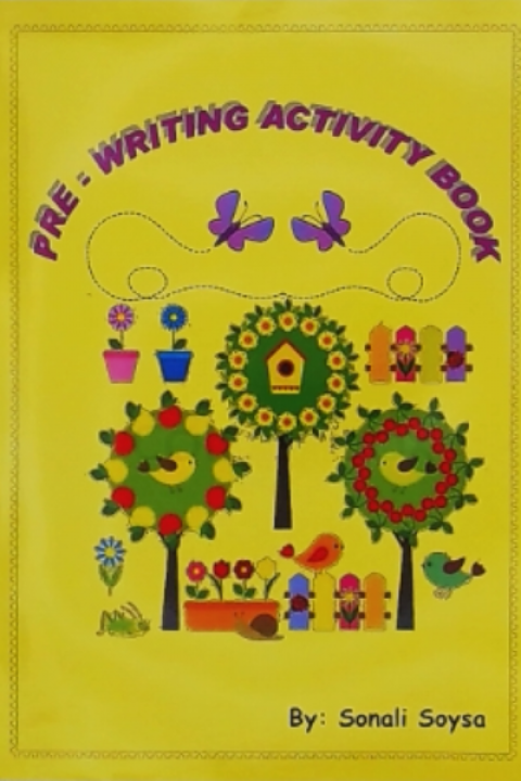 PRE WRITING ACTIVITY BOOK