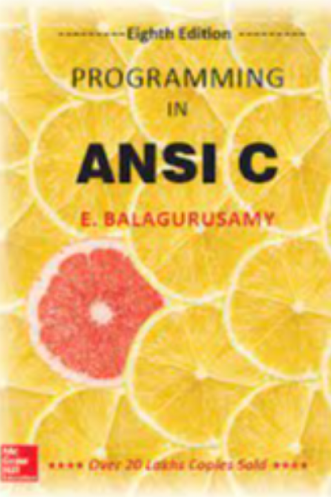 PROGRAMMING IN ANSI C - 8ED