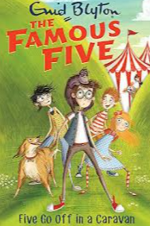 THE FAMOUS FIVE - FIVE GO OFF IN A CARAVAN