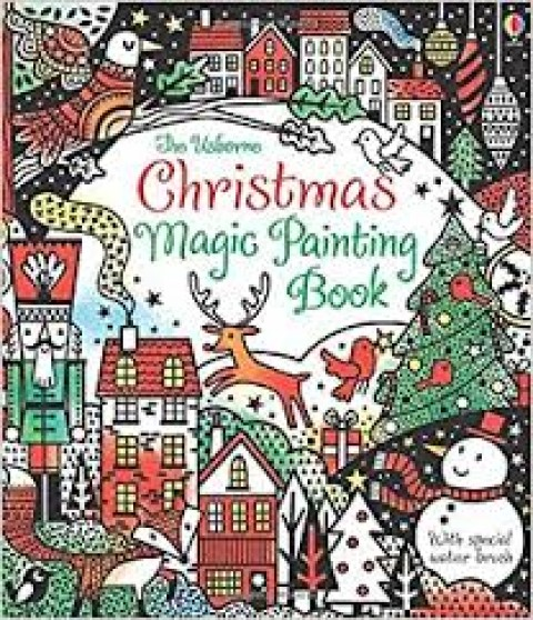 THE USBORNE CHRISTMAS MAGIC PAINTING BOOK