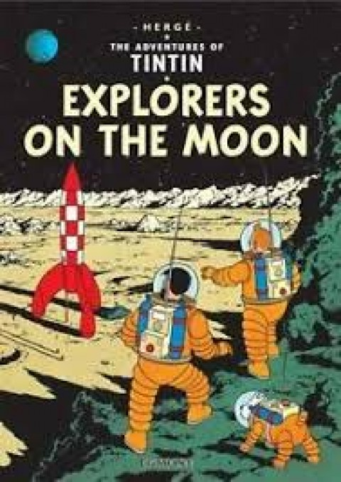 TIN TIN EXPLORERS ON THE MOON