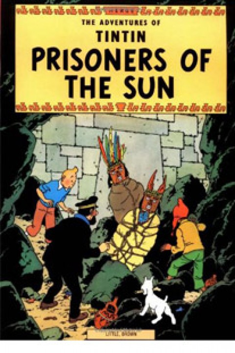 TIN TIN PRISONERS OF THE SUN