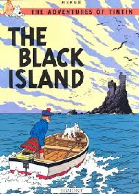 TIN TIN THE BLACK ISLAND