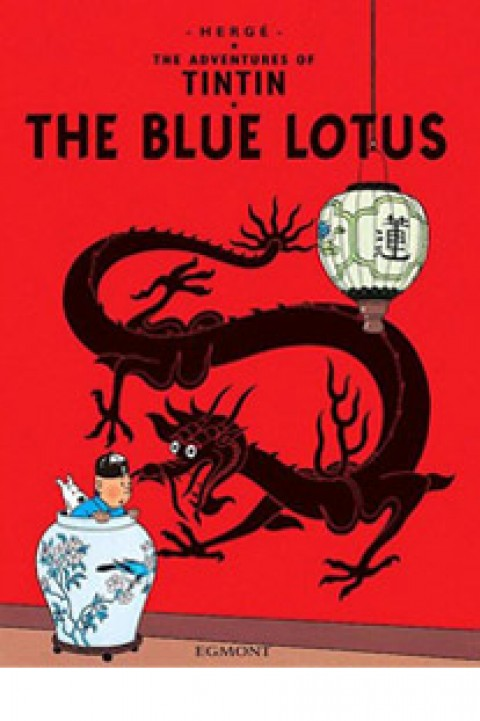 TIN TIN THE BLUE LOTUS