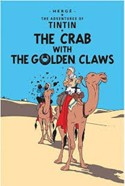 TIN TIN THE CRAB WITH THE GOLDEN CLAWS