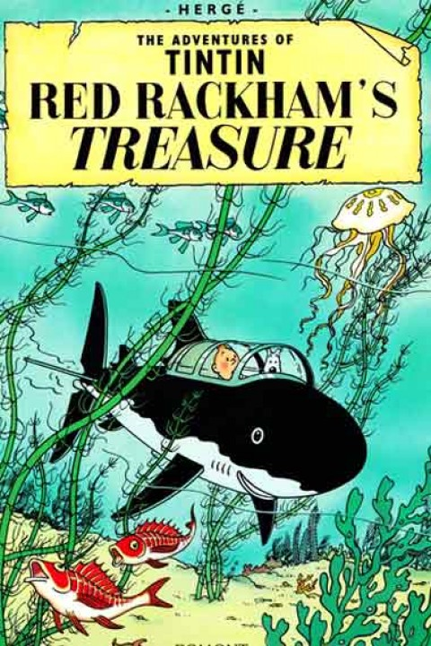 TIN TIN THE RED RACKHAMS TREASURE